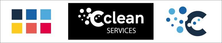 Charte Graphique minimale pour le logo de Cclean Services