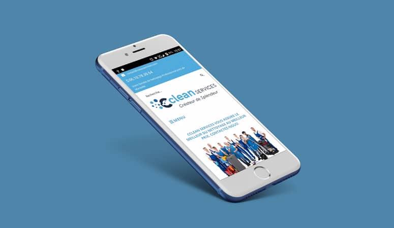 Création de Site Internet Cclean Services
