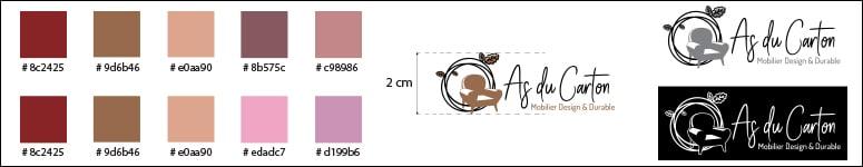 Charte Graphique minimale pour le logo d' As du Carton