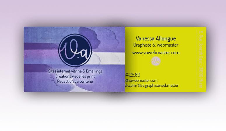 Création de cartes de visite, personal branding