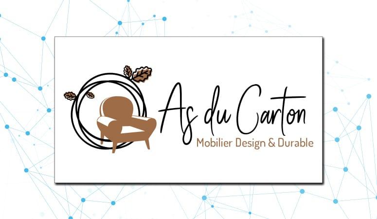 Création du logo d'As du Carton