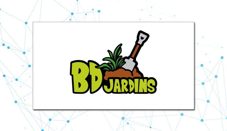 Création du logo d'un jardinier paysagiste