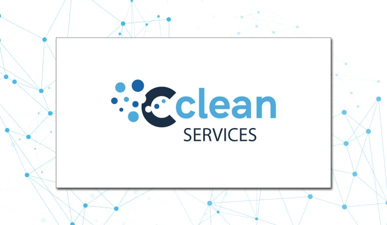 Création du logo de Cclean Services