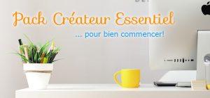 Pack Créateur : votre Logo, vos Cartes de Visite, et Site Internet Vitrine