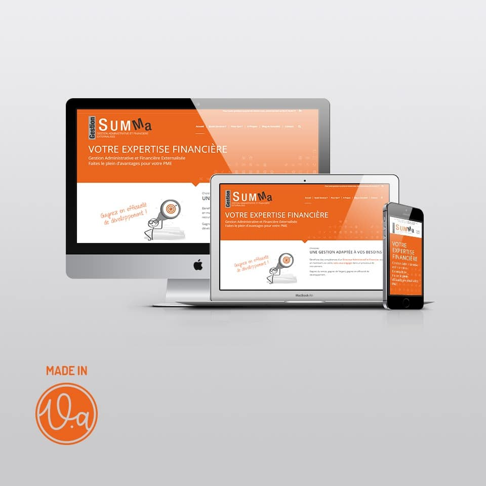 Création d'un site WordPress pour un Directeur Administratif & Financier